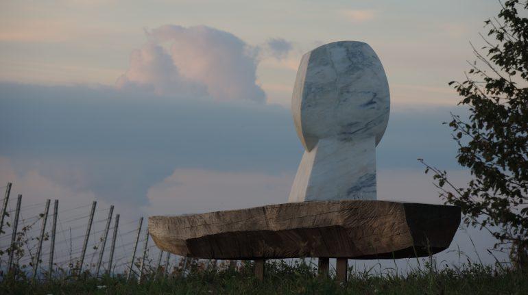 """""""Mond"""", Holz, Birgit Rehfeldt"""